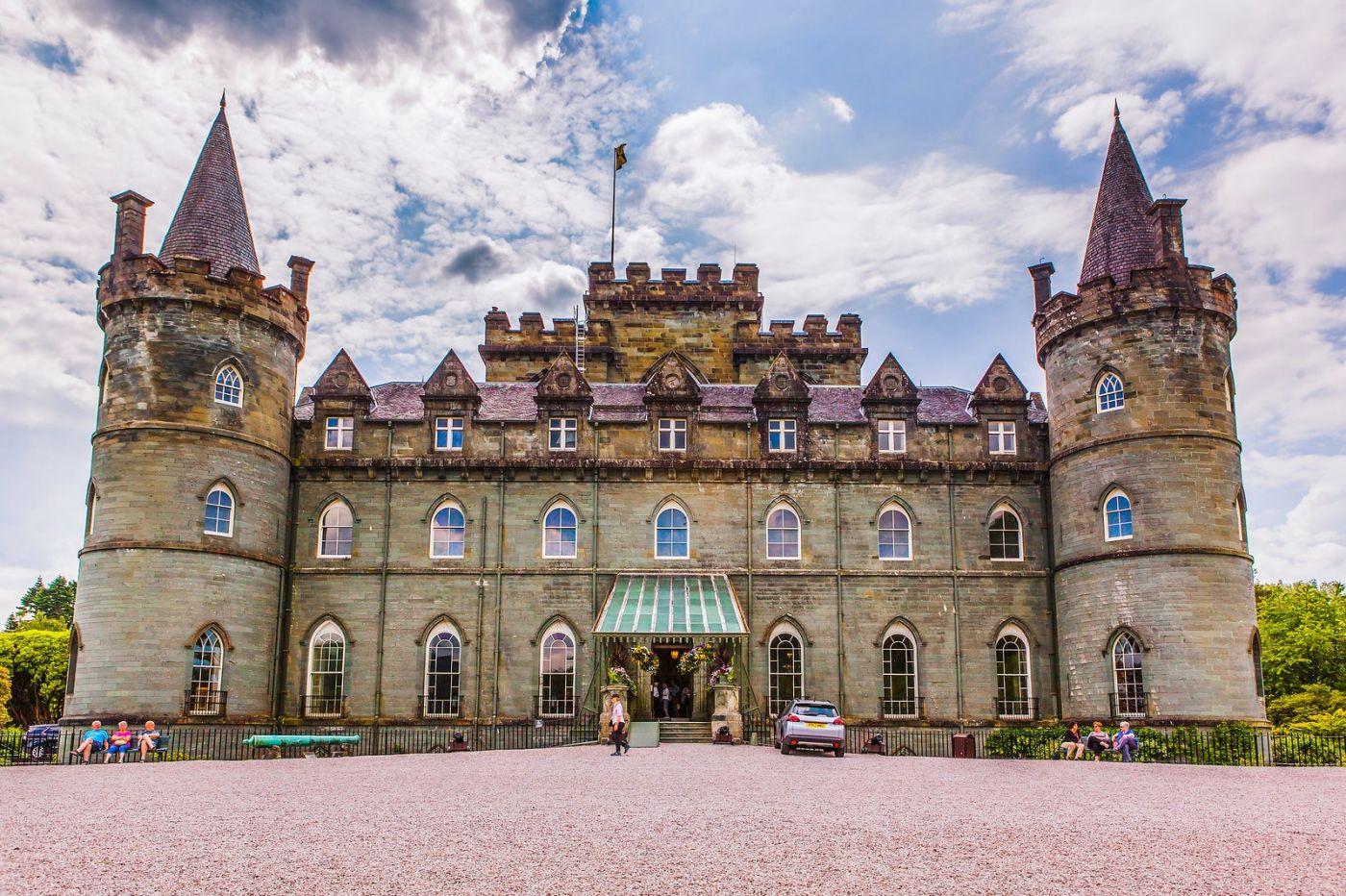 苏格兰Inveraray城堡,走进探秘_图1-8