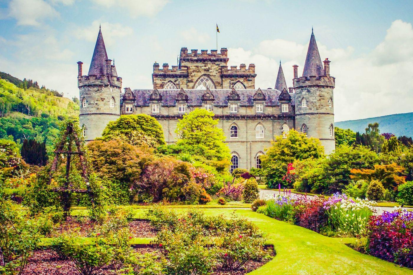 苏格兰Inveraray城堡,走进探秘_图1-20
