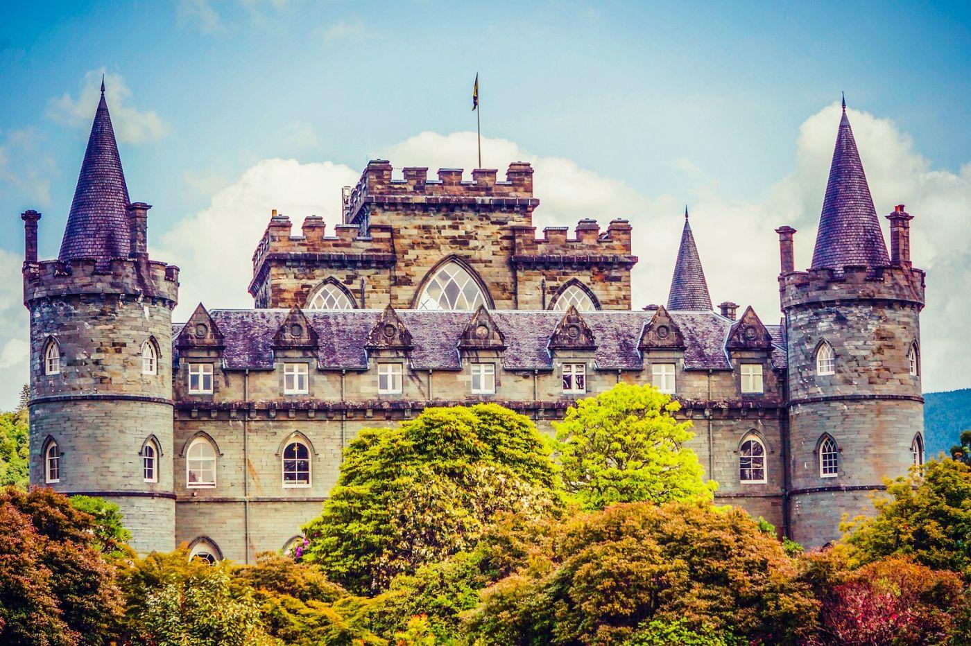 苏格兰Inveraray城堡,走进探秘_图1-21