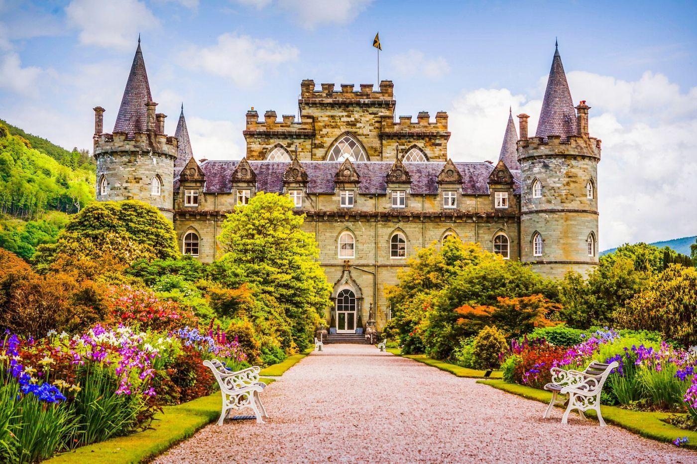 苏格兰Inveraray城堡,走进探秘_图1-23