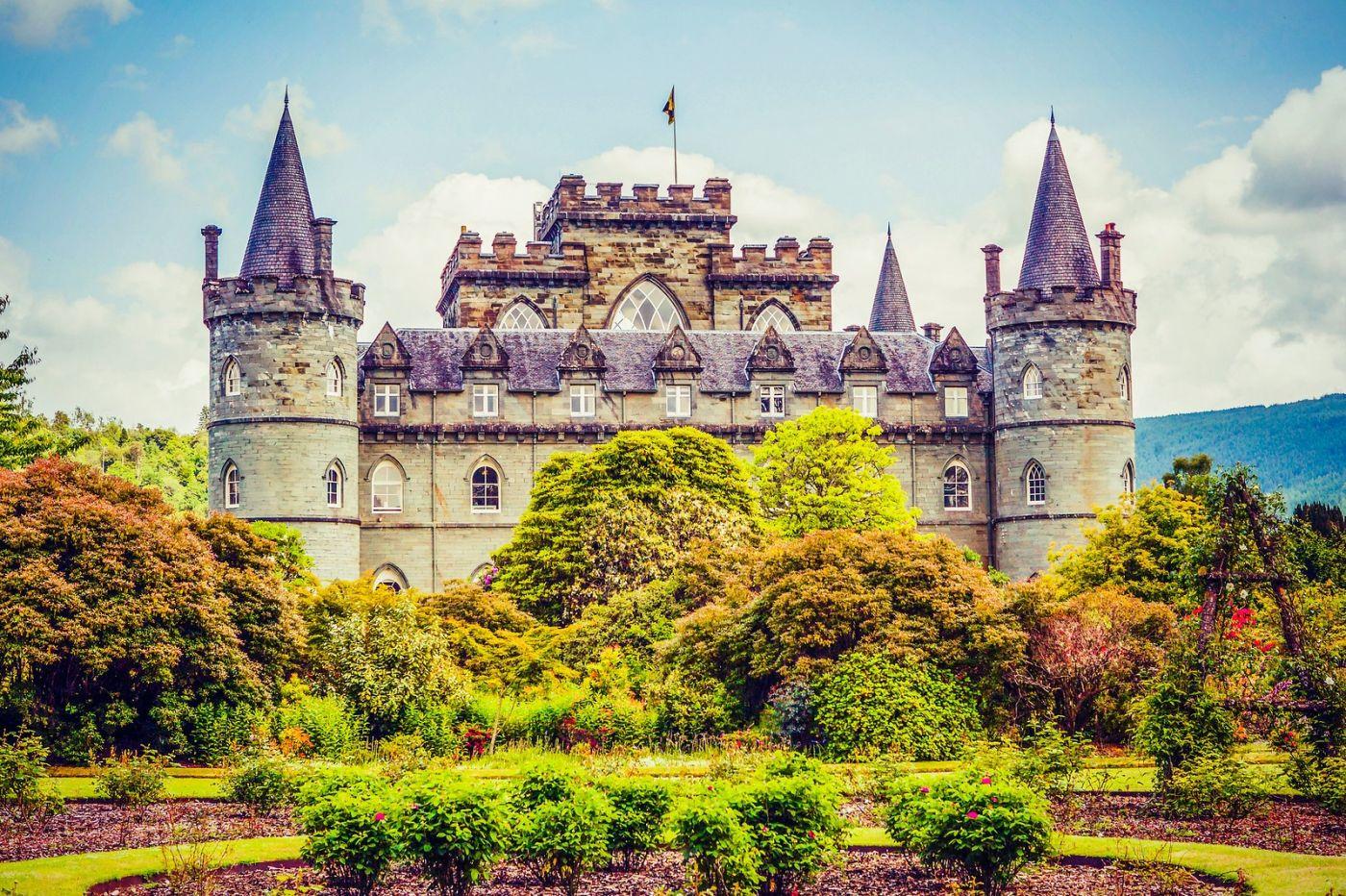 苏格兰Inveraray城堡,走进探秘_图1-26