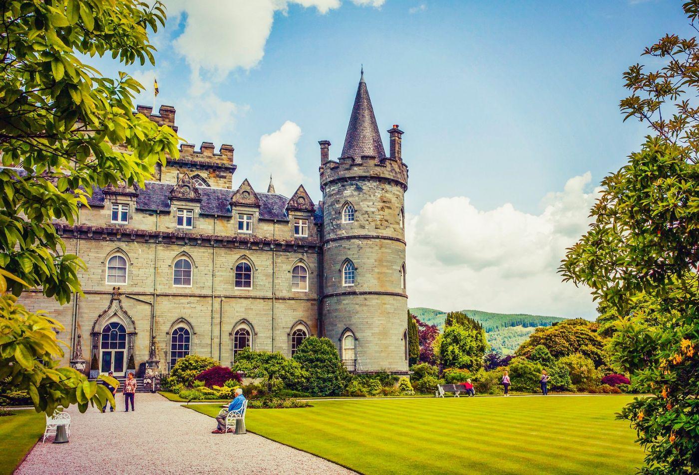 苏格兰Inveraray城堡,走进探秘_图1-30