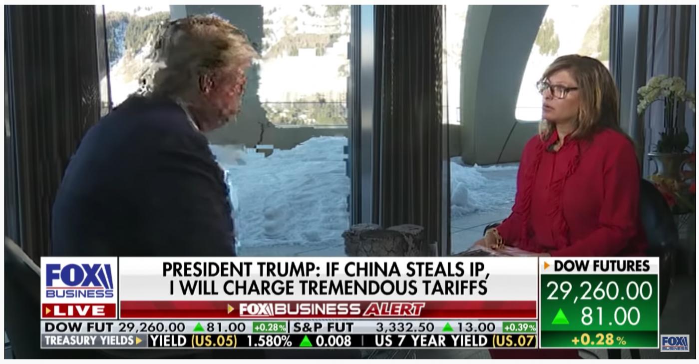 特朗普:我相信中国会认真执行协议_图1-1