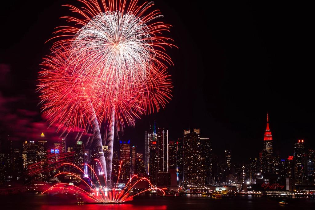 纽约烟花秀喜迎2020中国年_图1-5