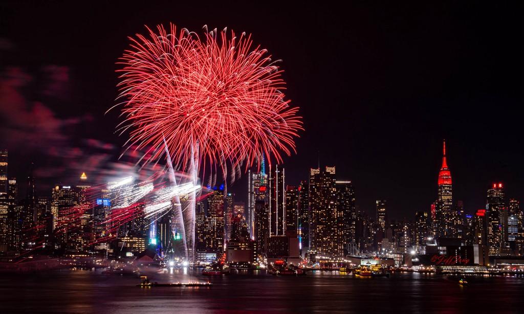 纽约烟花秀喜迎2020中国年_图1-6