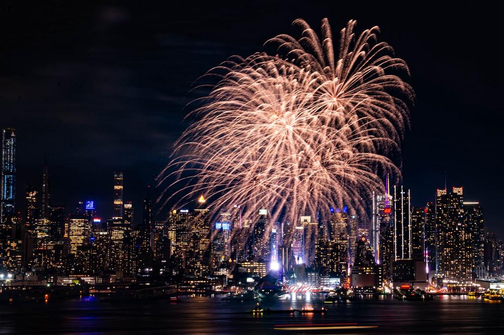 纽约烟花秀喜迎2020中国年_图1-7
