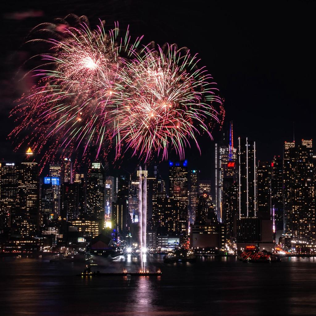 纽约烟花秀喜迎2020中国年_图1-8