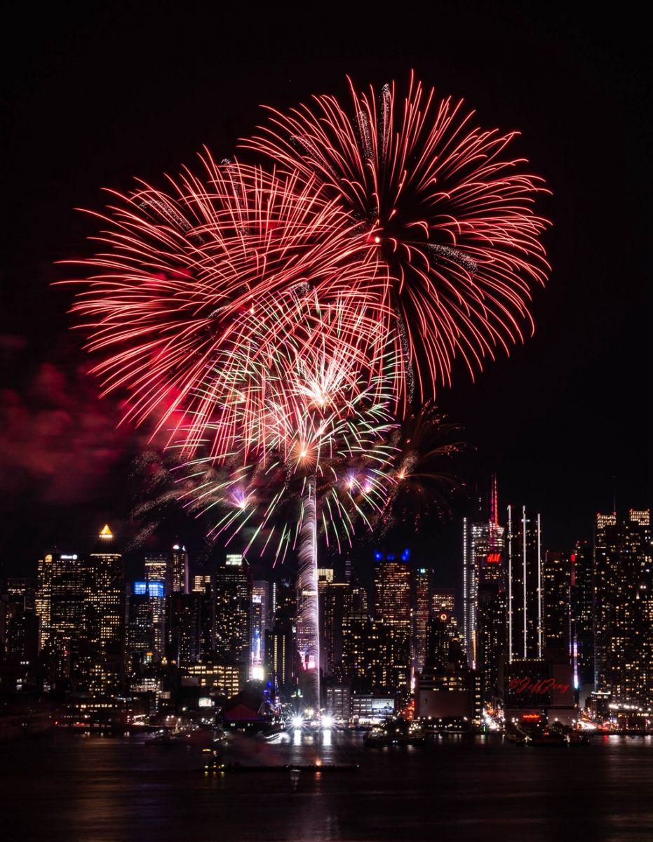 纽约烟花秀喜迎2020中国年_图1-13