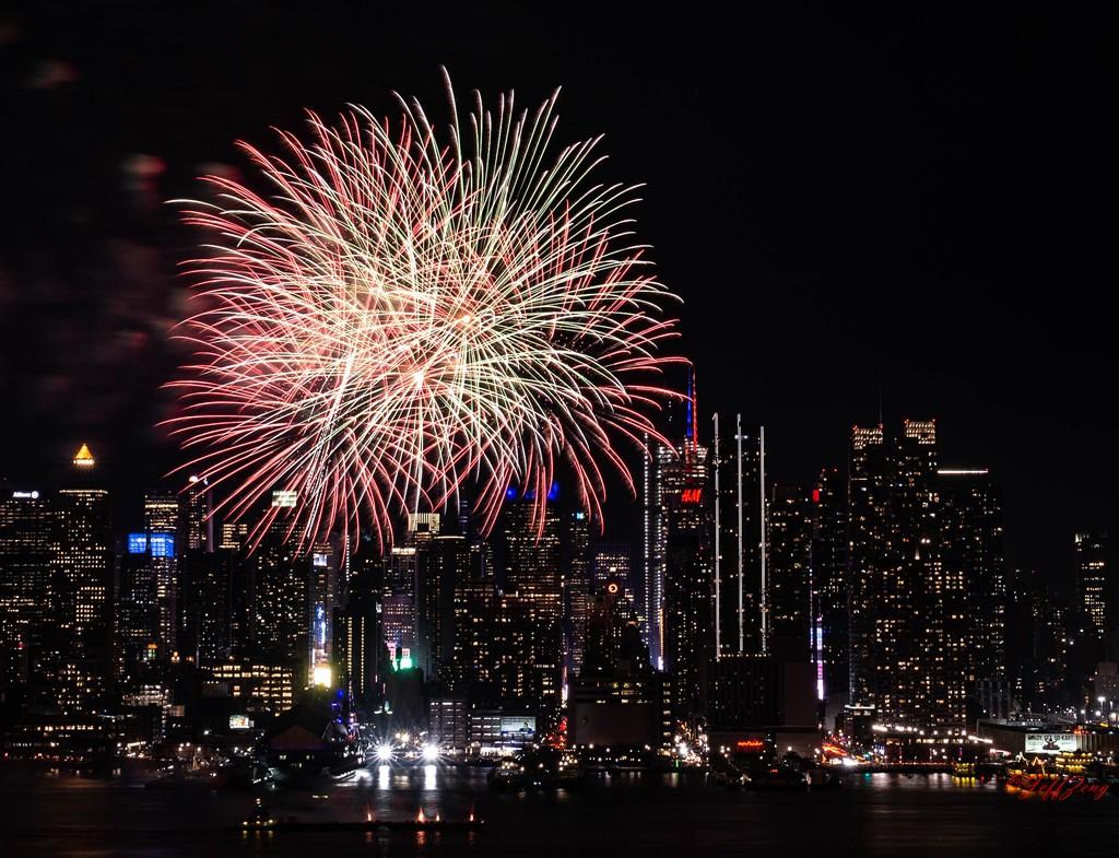 纽约烟花秀喜迎2020中国年_图1-12