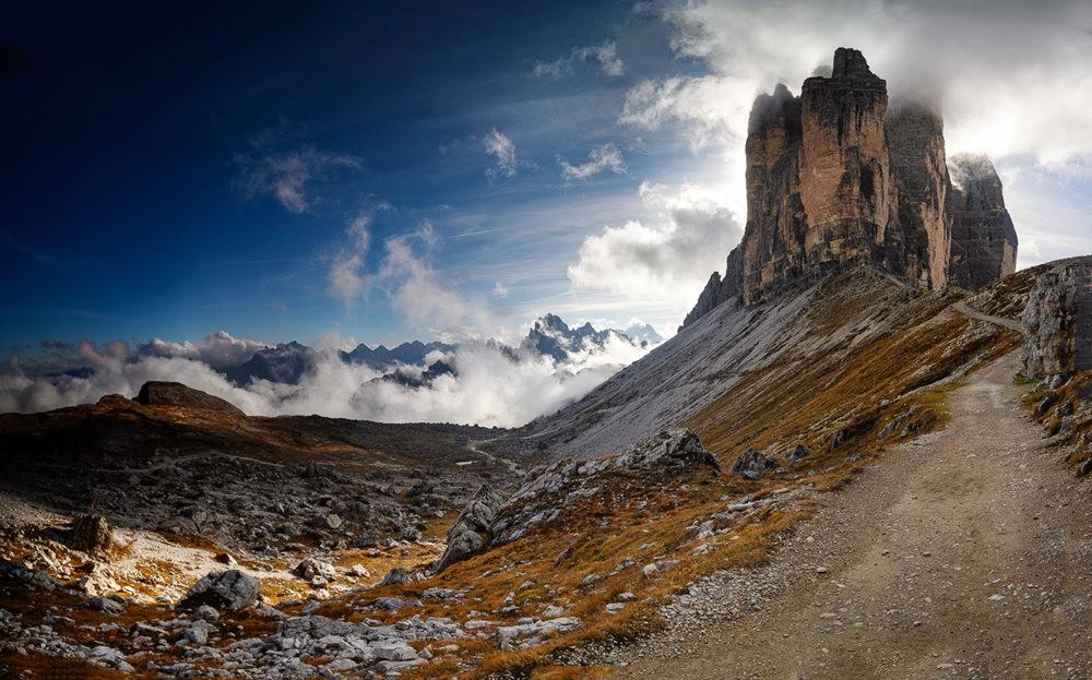 多洛米蒂山脉----意大利最美丽的人间仙境_图1-1