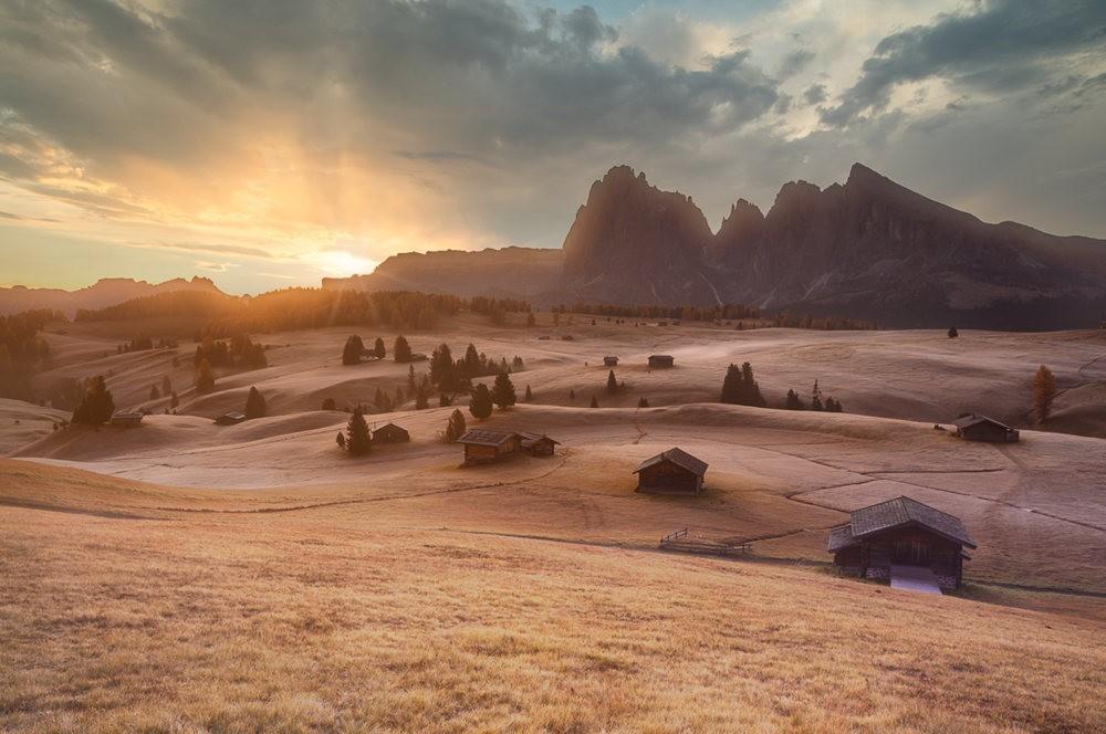 多洛米蒂山脉----意大利最美丽的人间仙境_图1-3