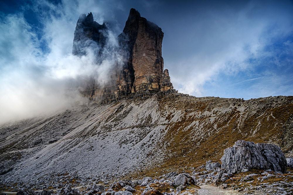 多洛米蒂山脉----意大利最美丽的人间仙境_图1-18