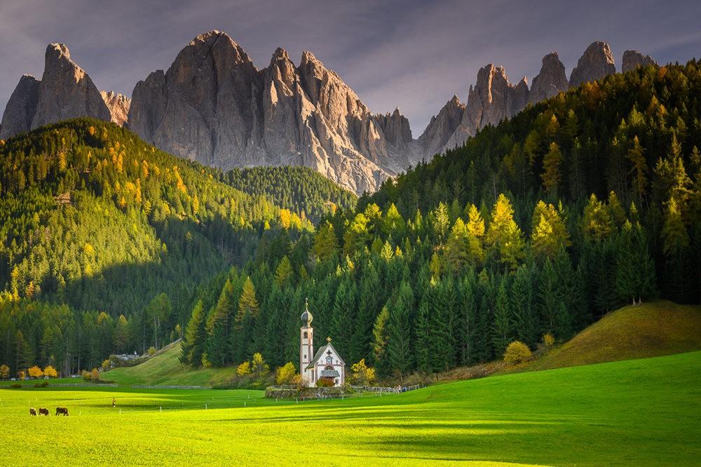 多洛米蒂山脉----意大利最美丽的人间仙境_图1-22