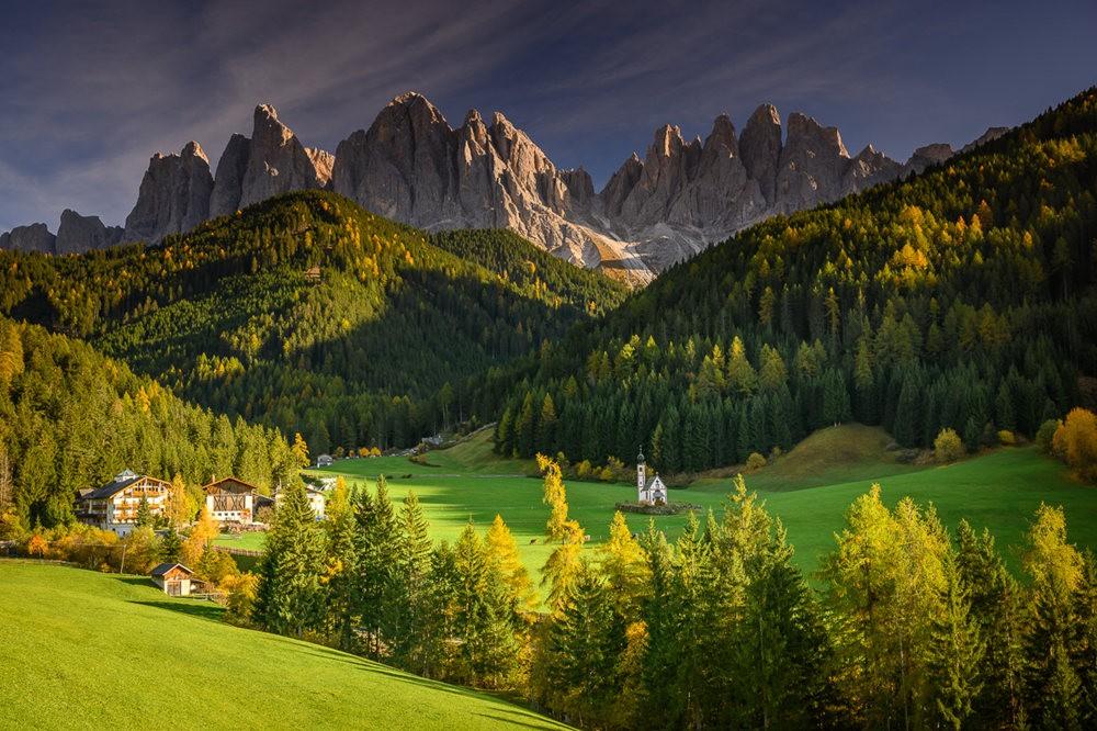 多洛米蒂山脉----意大利最美丽的人间仙境_图1-23
