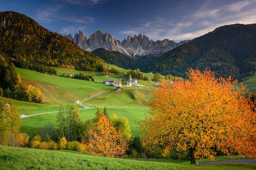多洛米蒂山脉----意大利最美丽的人间仙境_图1-25