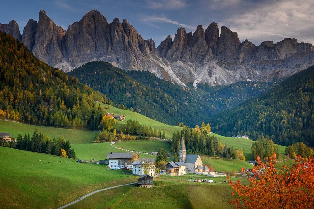 多洛米蒂山脉----意大利最美丽的人间仙境_图1-26