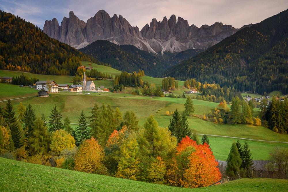 多洛米蒂山脉----意大利最美丽的人间仙境_图1-27