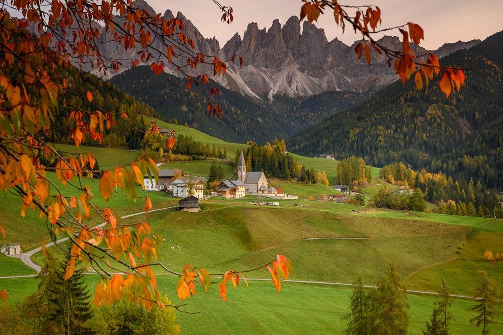 多洛米蒂山脉----意大利最美丽的人间仙境_图1-28