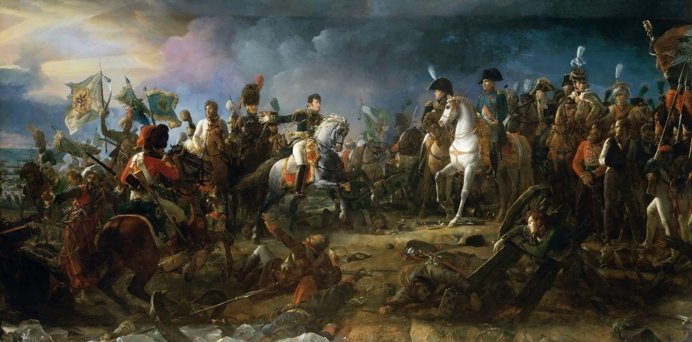 凡尔赛宫的两幅油画(一)《奥斯特列茨战役》_图1-1