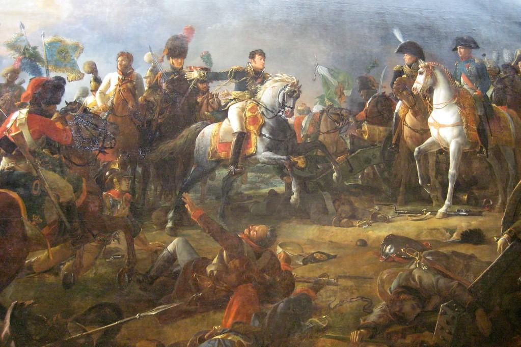 凡尔赛宫的两幅油画(一)《奥斯特列茨战役》_图1-5