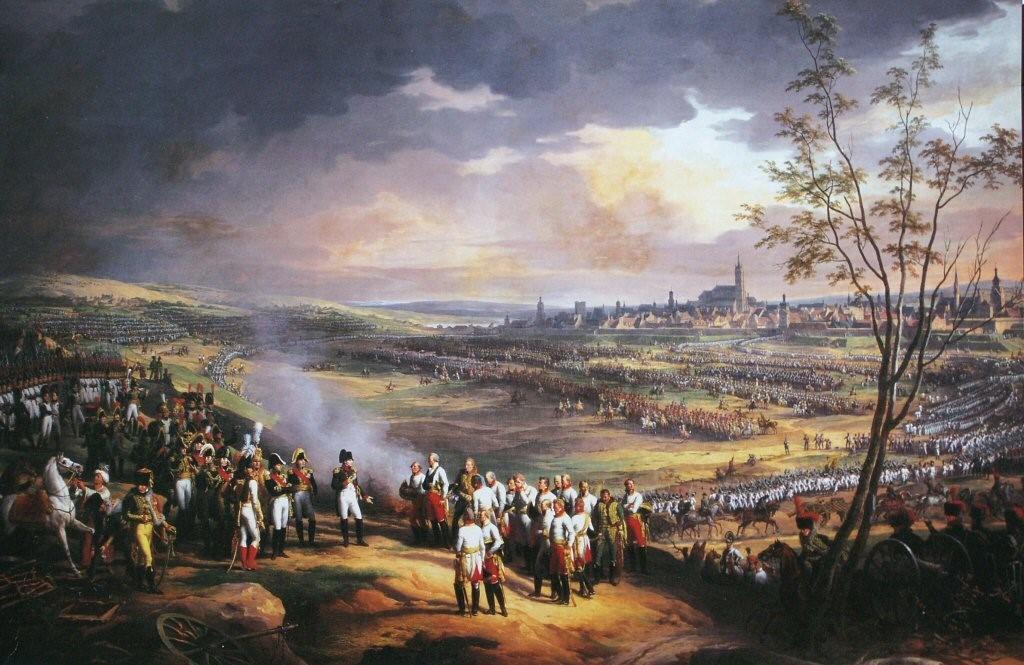 凡尔赛宫的两幅油画(一)《奥斯特列茨战役》_图1-2