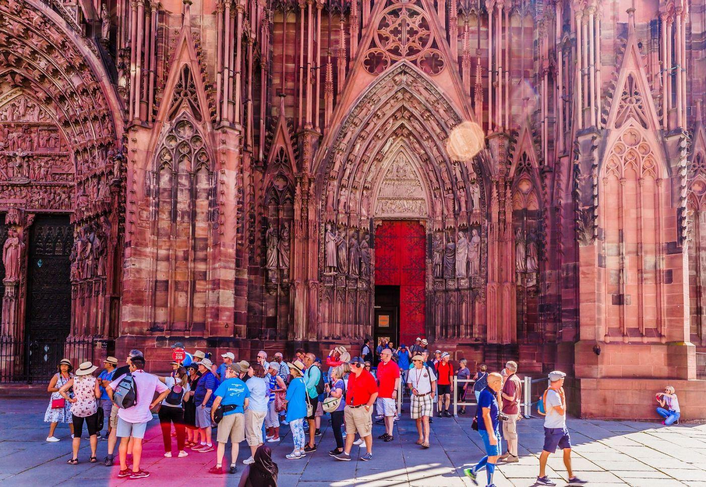法国斯特拉斯堡(Strasbourg),八百年的主教堂_图1-11