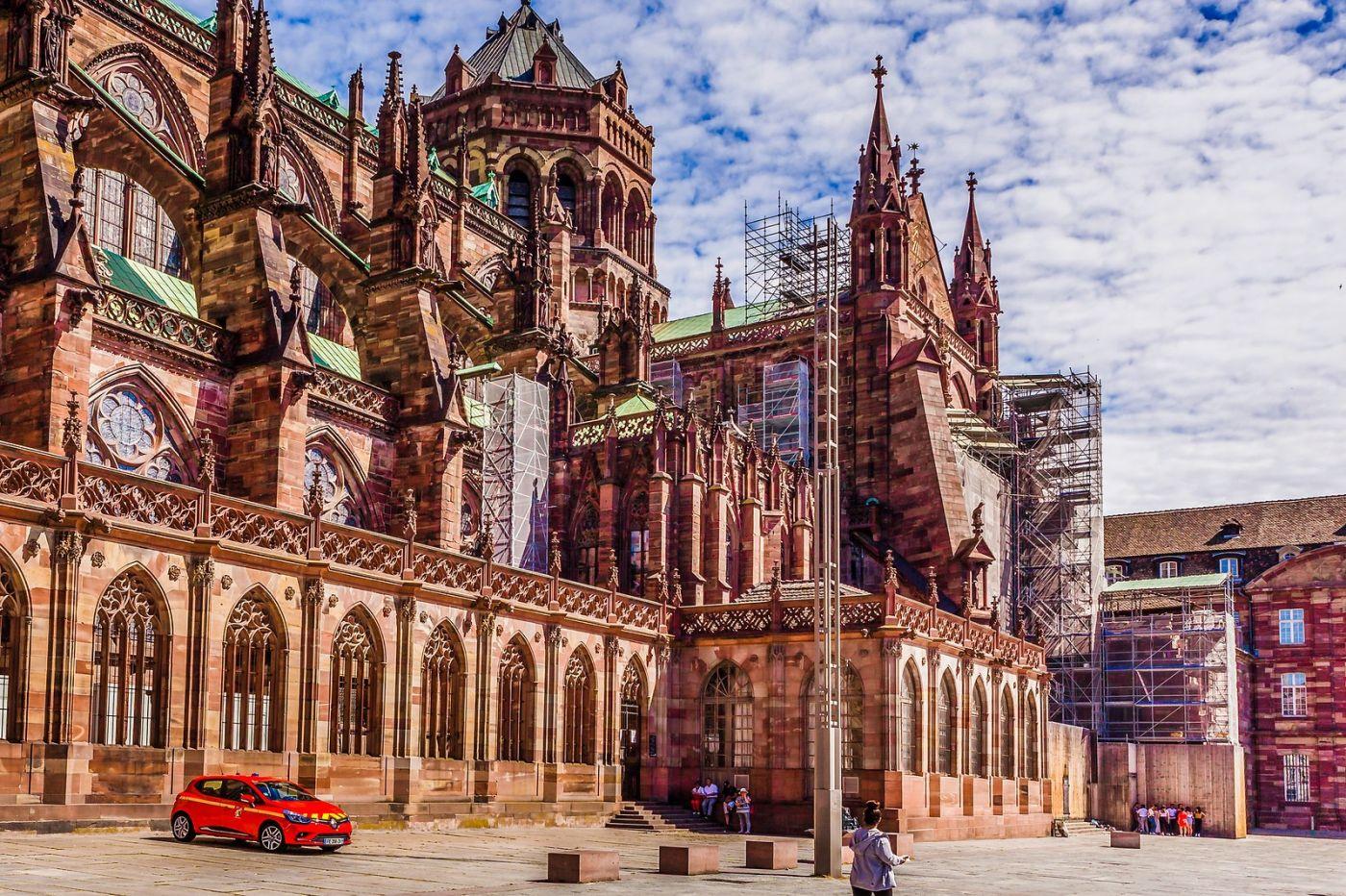 法国斯特拉斯堡(Strasbourg),八百年的主教堂_图1-10