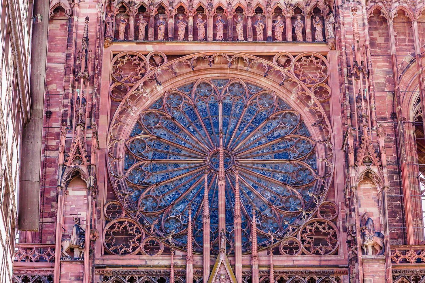 法国斯特拉斯堡(Strasbourg),八百年的主教堂_图1-9