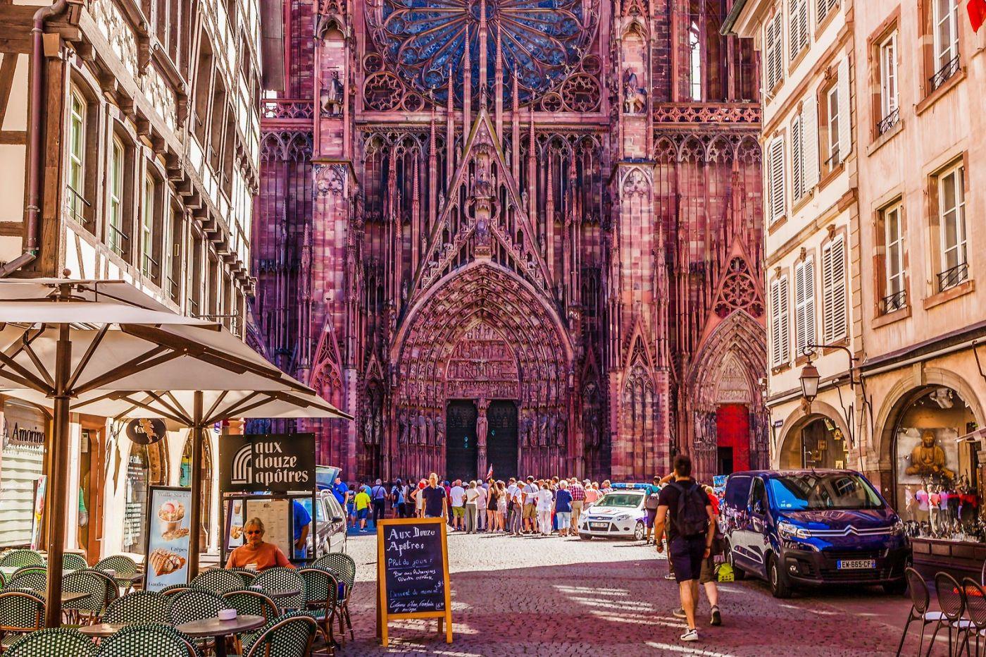 法国斯特拉斯堡(Strasbourg),八百年的主教堂_图1-12
