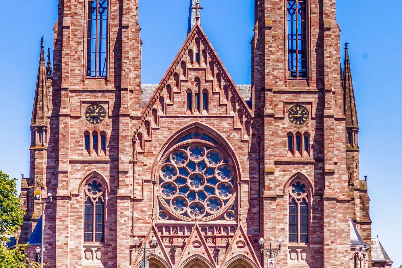 法国斯特拉斯堡(Strasbourg),八百年的主教堂_图1-8