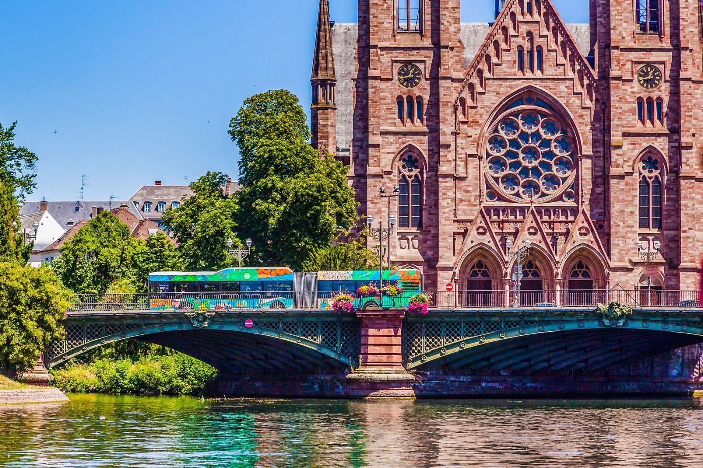 法国斯特拉斯堡(Strasbourg),八百年的主教堂_图1-6