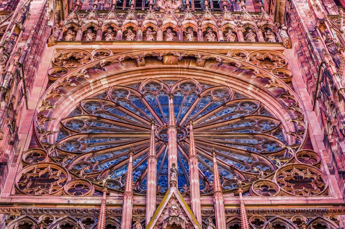 法国斯特拉斯堡(Strasbourg),八百年的主教堂_图1-5