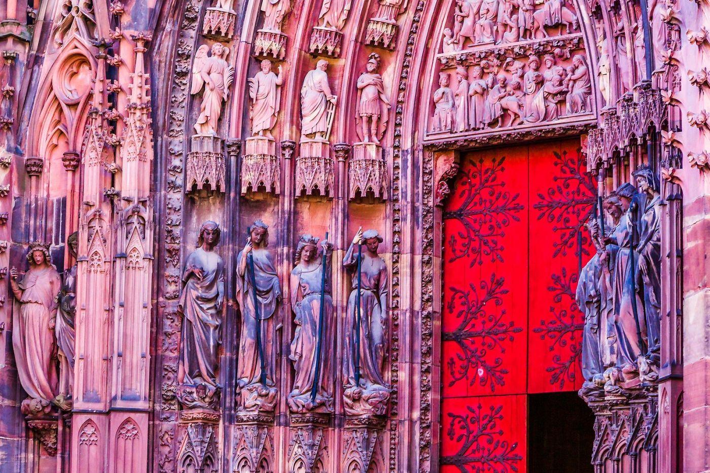 法国斯特拉斯堡(Strasbourg),八百年的主教堂_图1-4