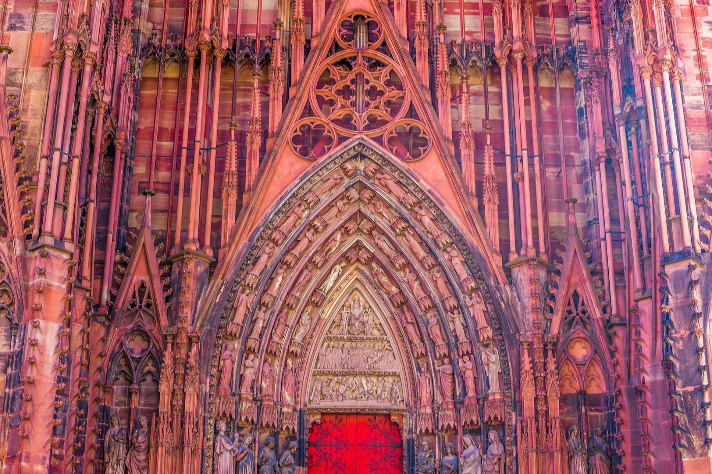 法国斯特拉斯堡(Strasbourg),八百年的主教堂_图1-15