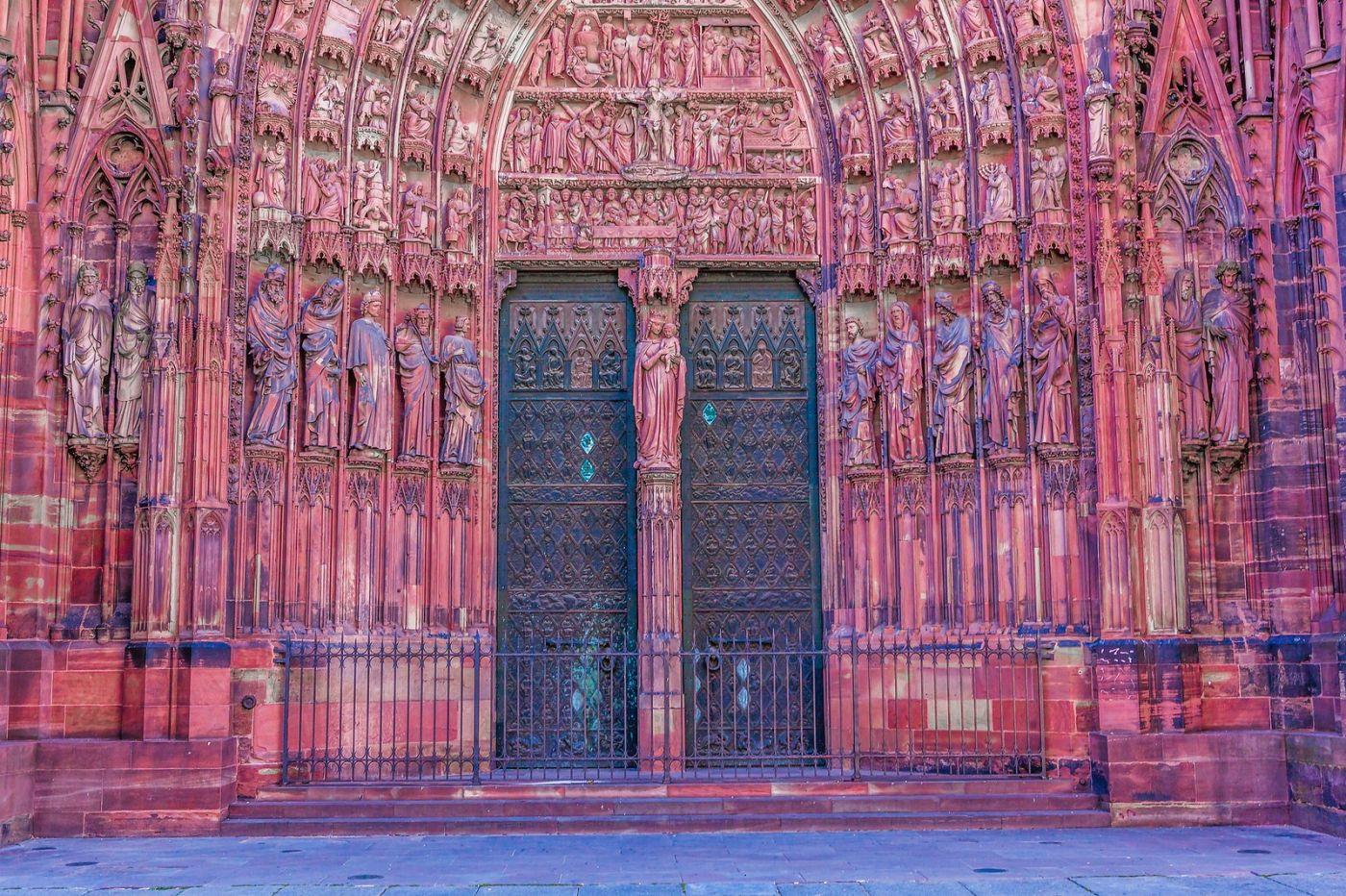 法国斯特拉斯堡(Strasbourg),八百年的主教堂_图1-17