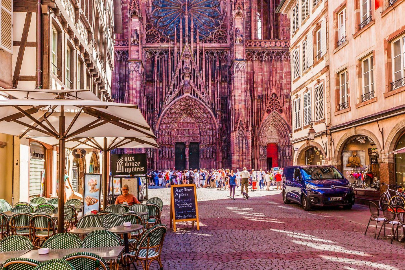 法国斯特拉斯堡(Strasbourg),八百年的主教堂_图1-19