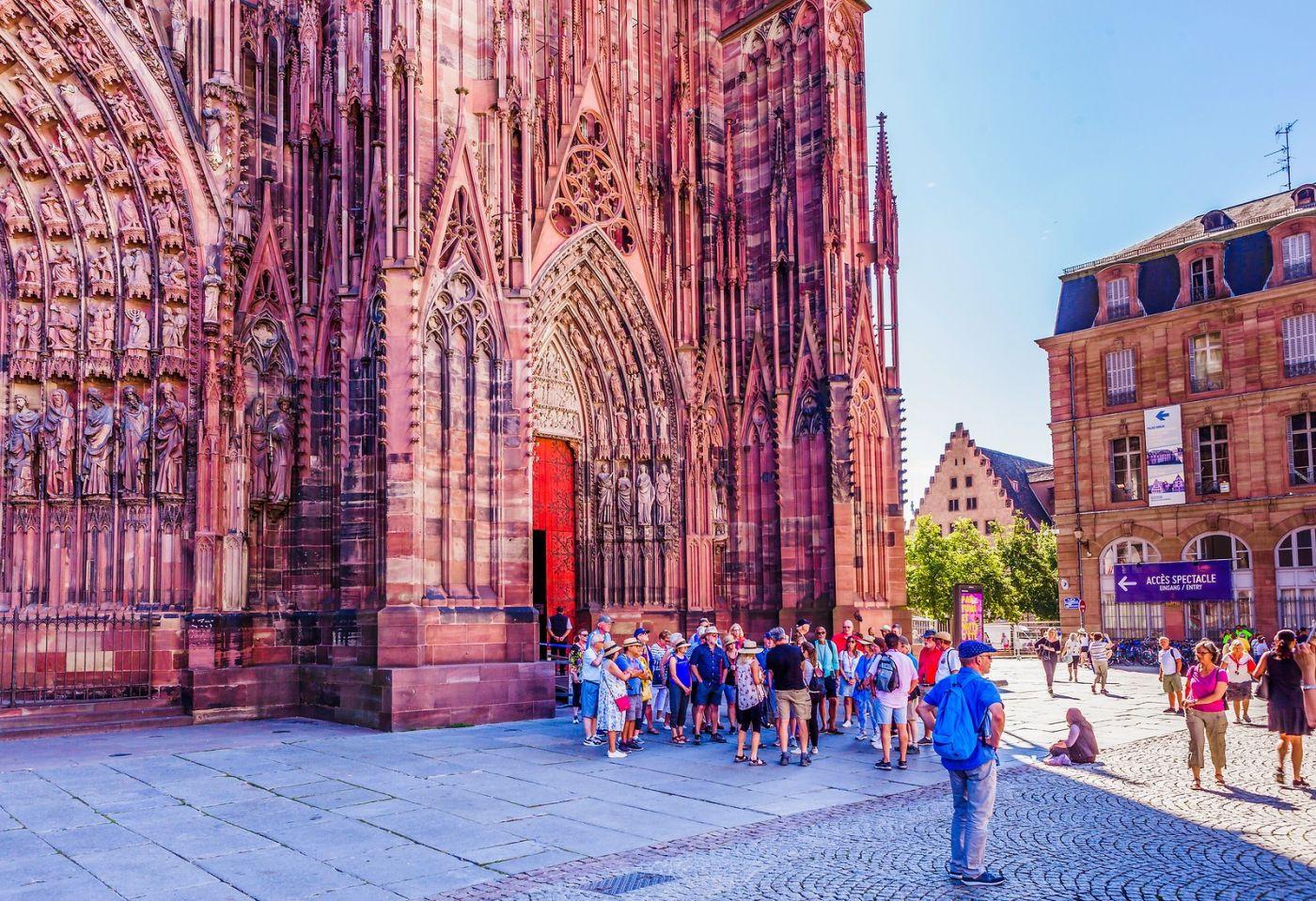 法国斯特拉斯堡(Strasbourg),八百年的主教堂_图1-20