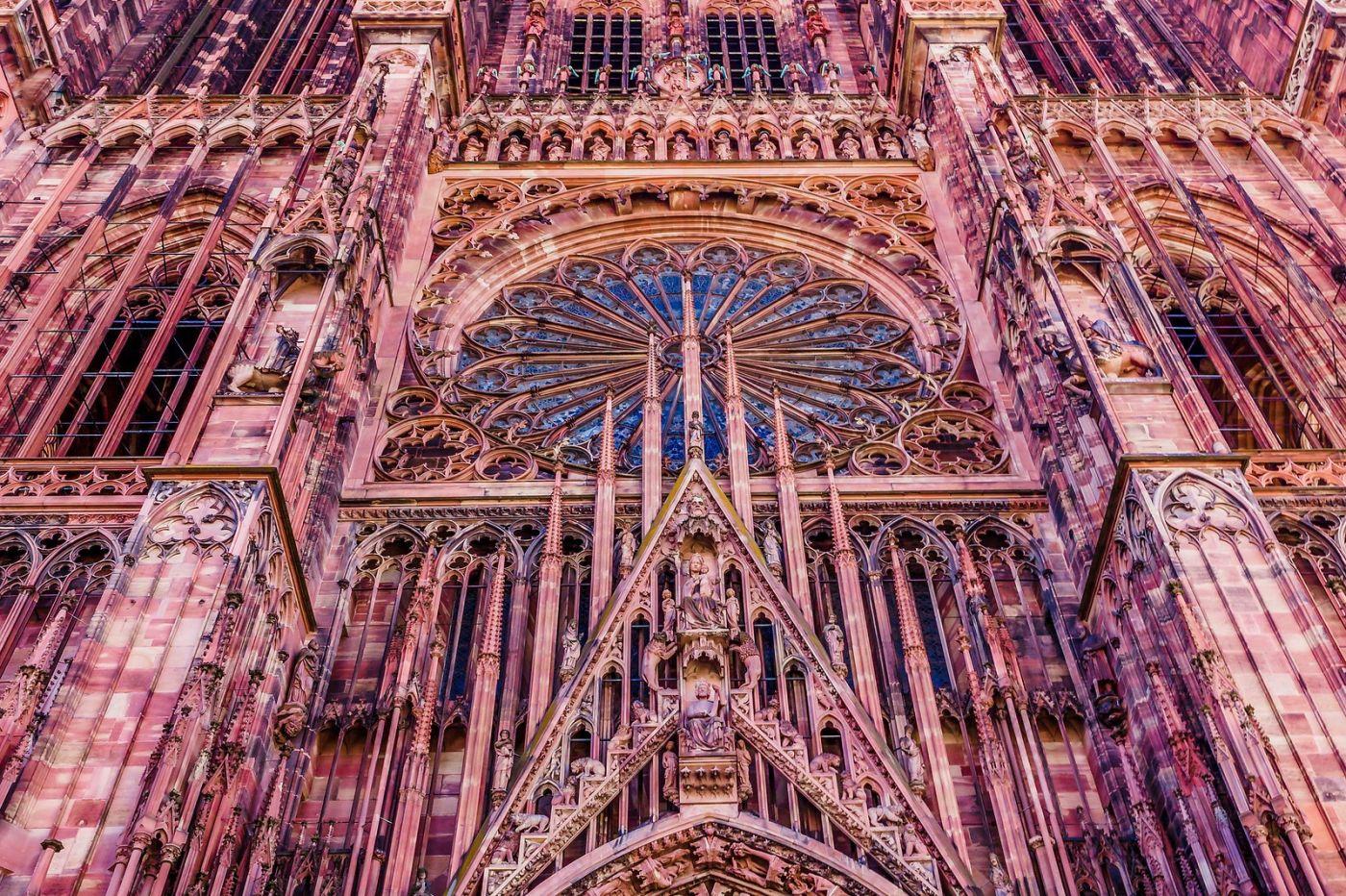 法国斯特拉斯堡(Strasbourg),八百年的主教堂_图1-23