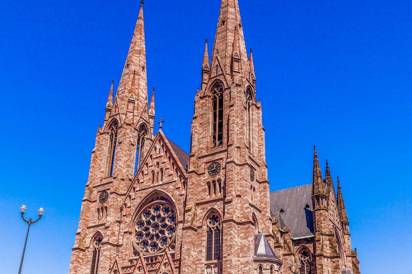 法国斯特拉斯堡(Strasbourg),八百年的主教堂_图1-22