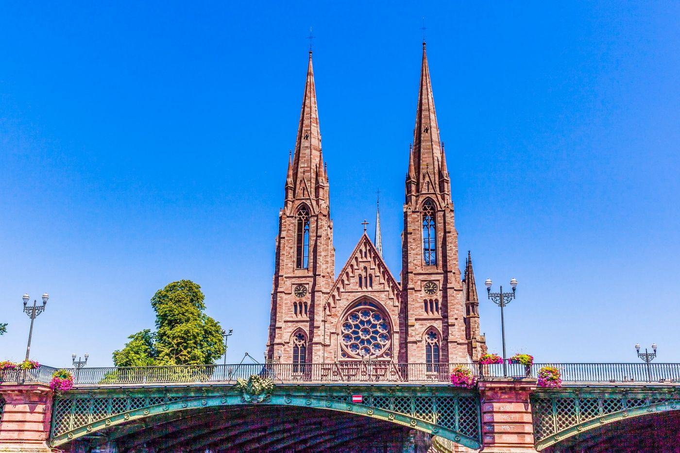 法国斯特拉斯堡(Strasbourg),八百年的主教堂_图1-21