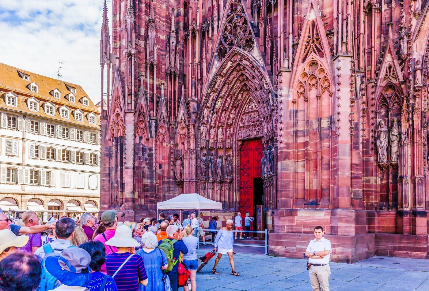 法国斯特拉斯堡(Strasbourg),八百年的主教堂_图1-26