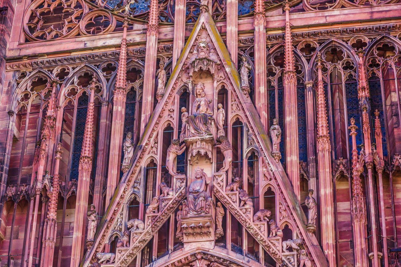 法国斯特拉斯堡(Strasbourg),八百年的主教堂_图1-25