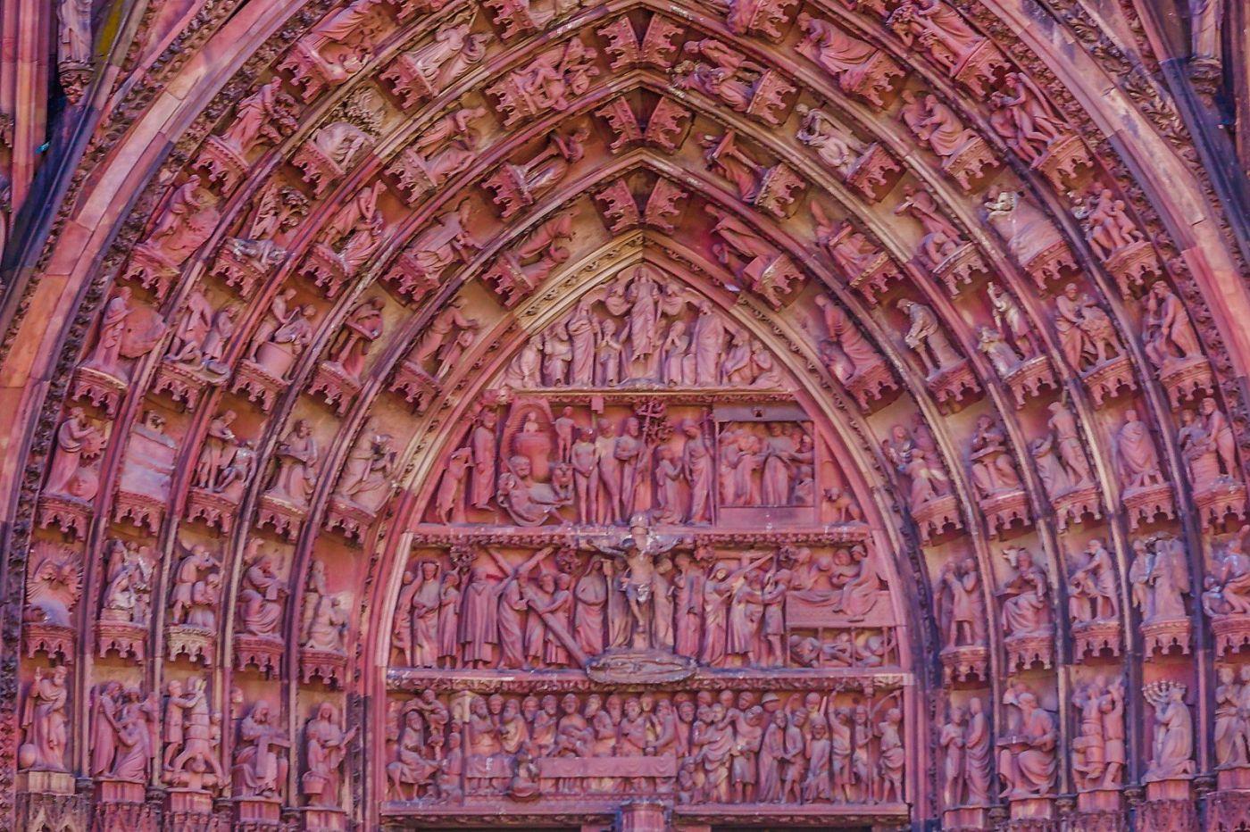 法国斯特拉斯堡(Strasbourg),八百年的主教堂_图1-28