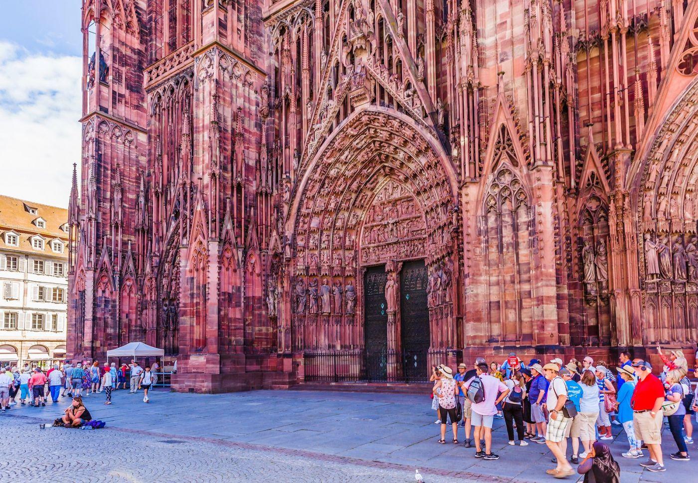法国斯特拉斯堡(Strasbourg),八百年的主教堂_图1-27
