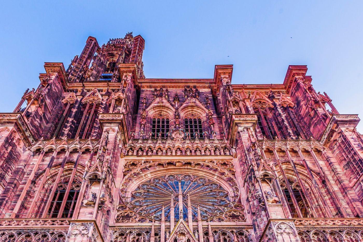 法国斯特拉斯堡(Strasbourg),八百年的主教堂_图1-32