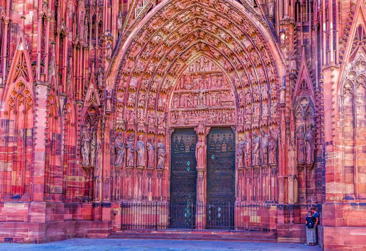法国斯特拉斯堡(Strasbourg),八百年的主教堂_图1-31