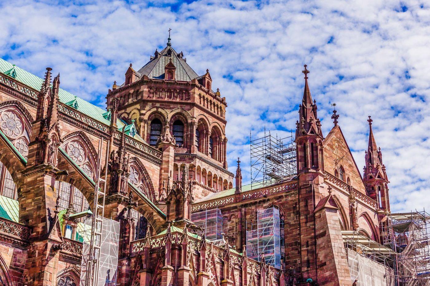 法国斯特拉斯堡(Strasbourg),八百年的主教堂_图1-29