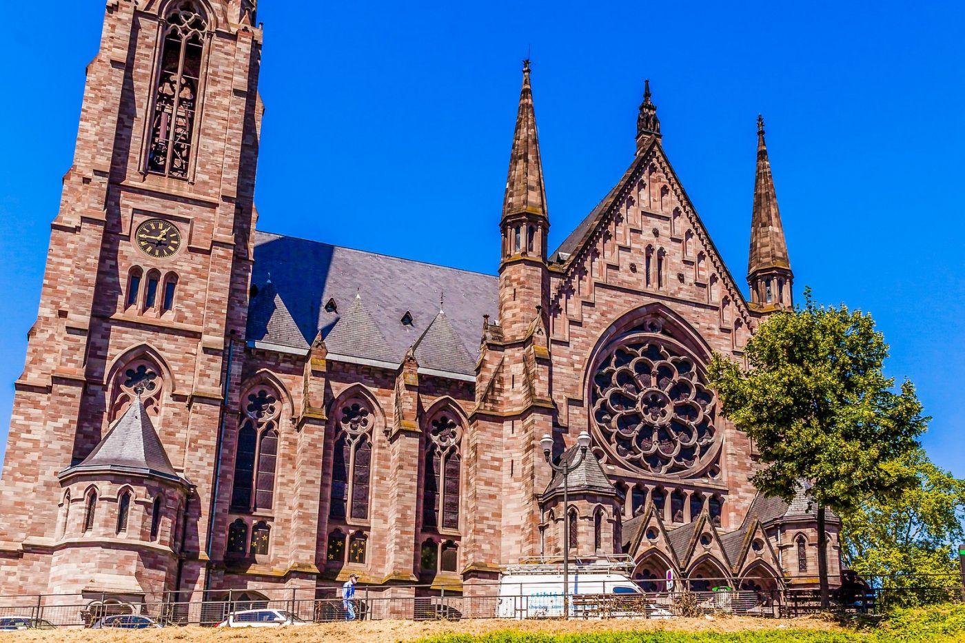 法国斯特拉斯堡(Strasbourg),八百年的主教堂_图1-33