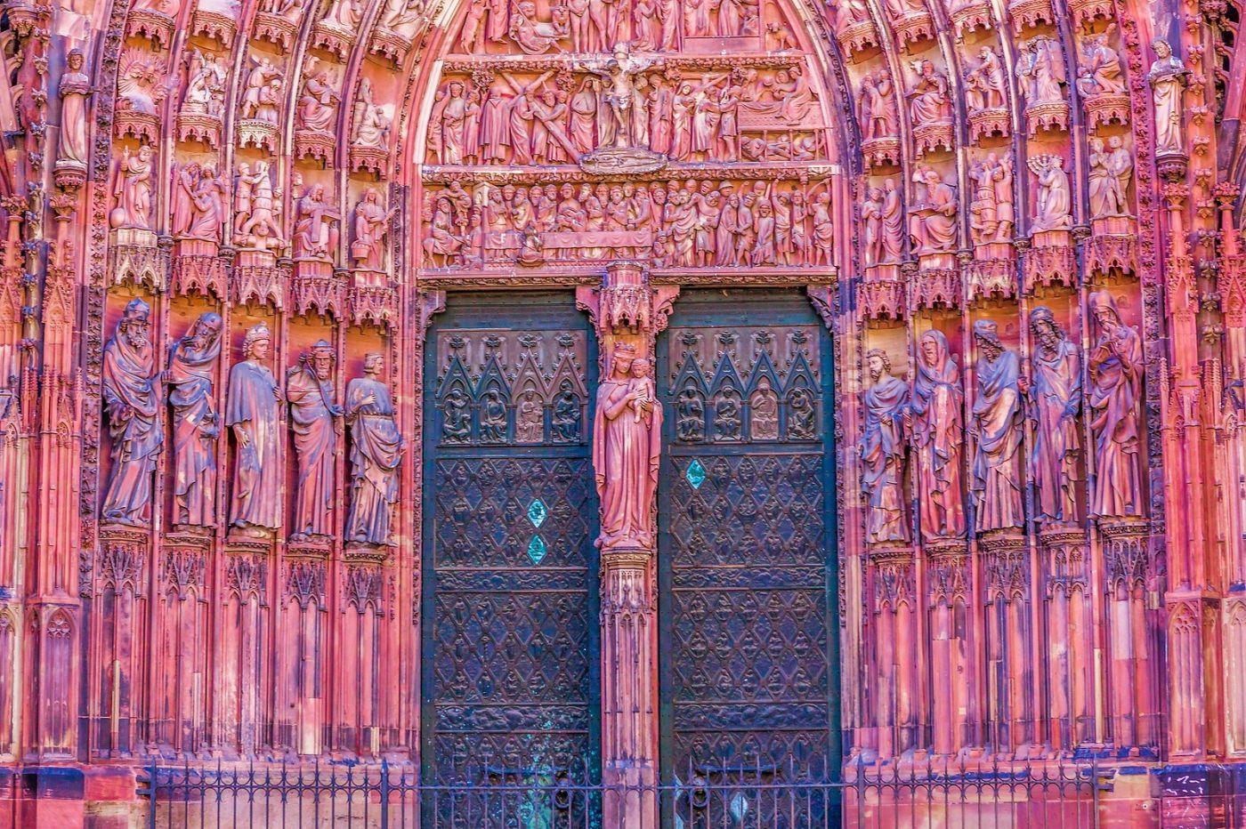 法国斯特拉斯堡(Strasbourg),八百年的主教堂_图1-36
