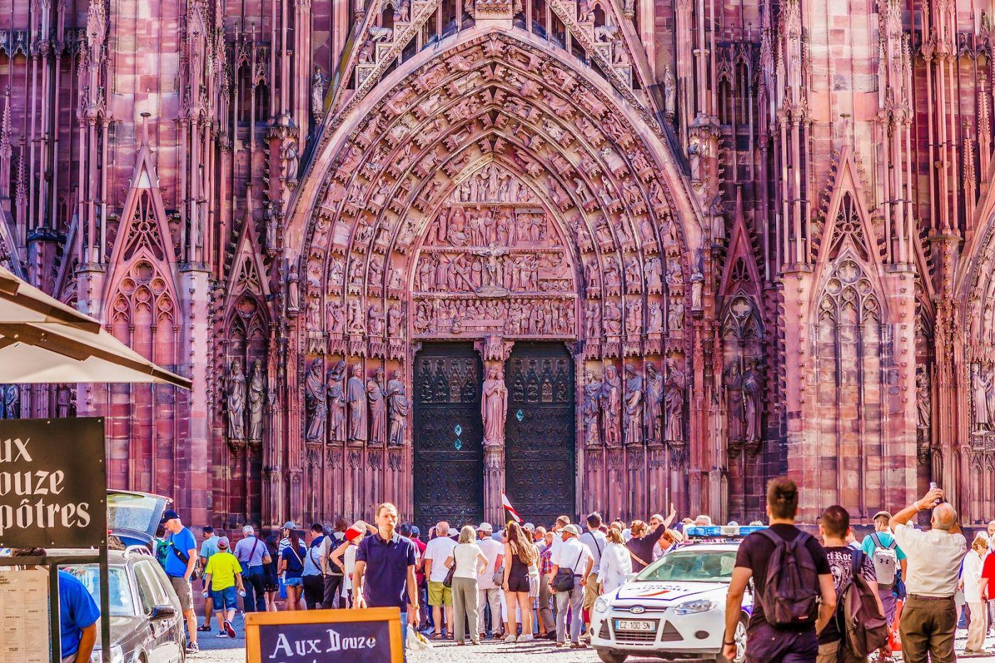 法国斯特拉斯堡(Strasbourg),八百年的主教堂_图1-37
